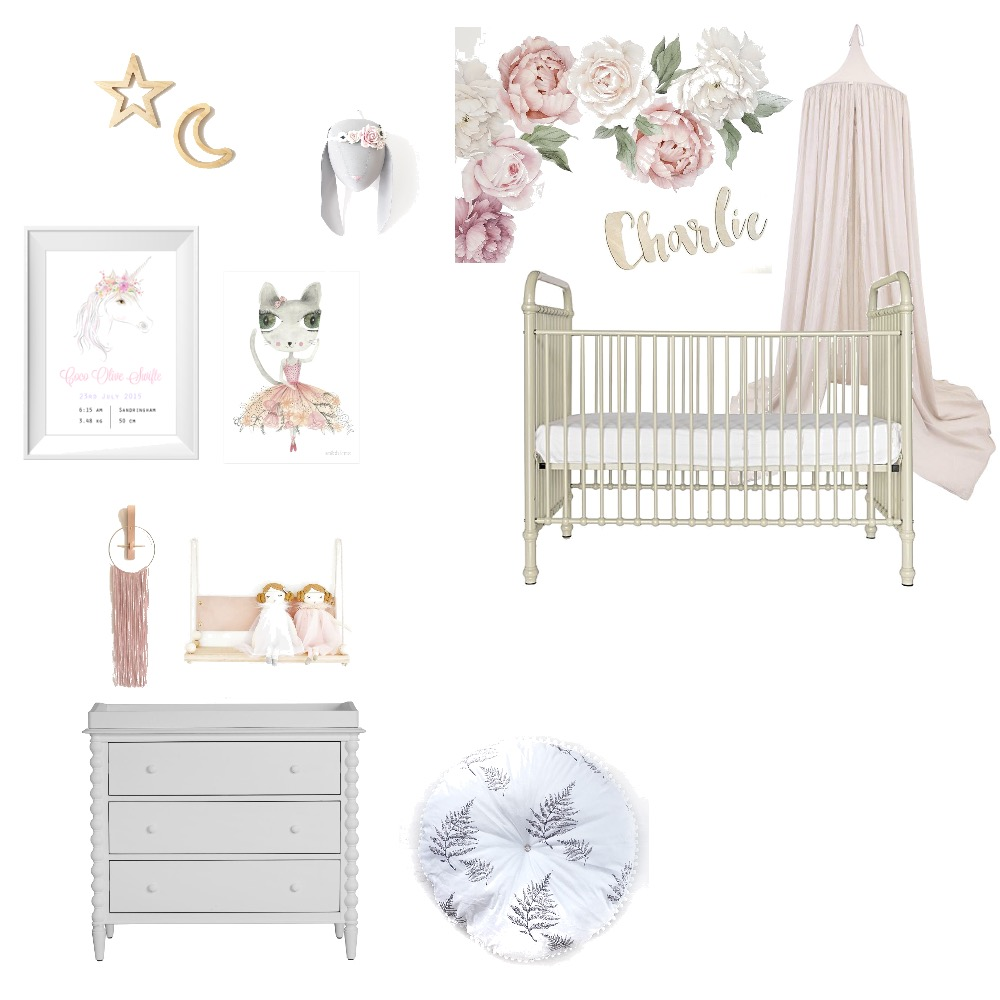 Harper's Bedroom Mood Board by theyoungco on Style Sourcebook