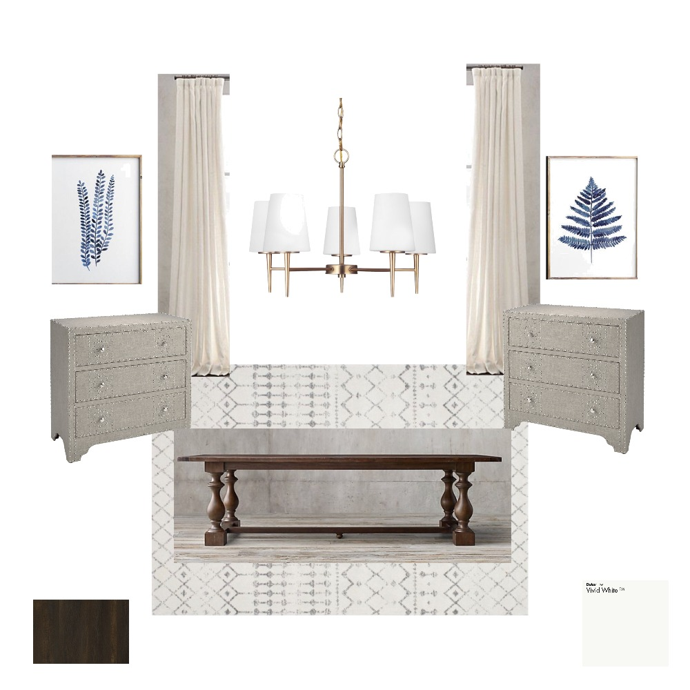 Dining Room Mood Board by victoriapetrolo on Style Sourcebook