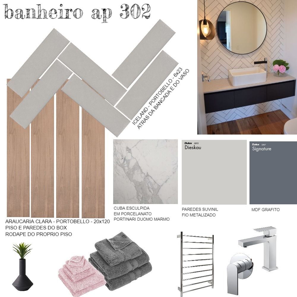 BANHEIRO AP302 Mood Board by marcelarossi on Style Sourcebook