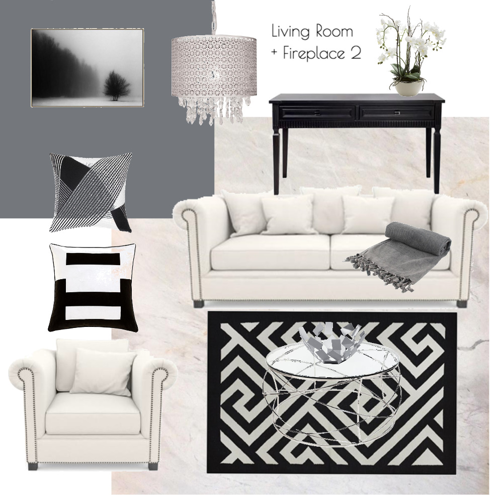Lina and Quang Living Room #2 Mood Board by Plush Design Interiors on Style Sourcebook