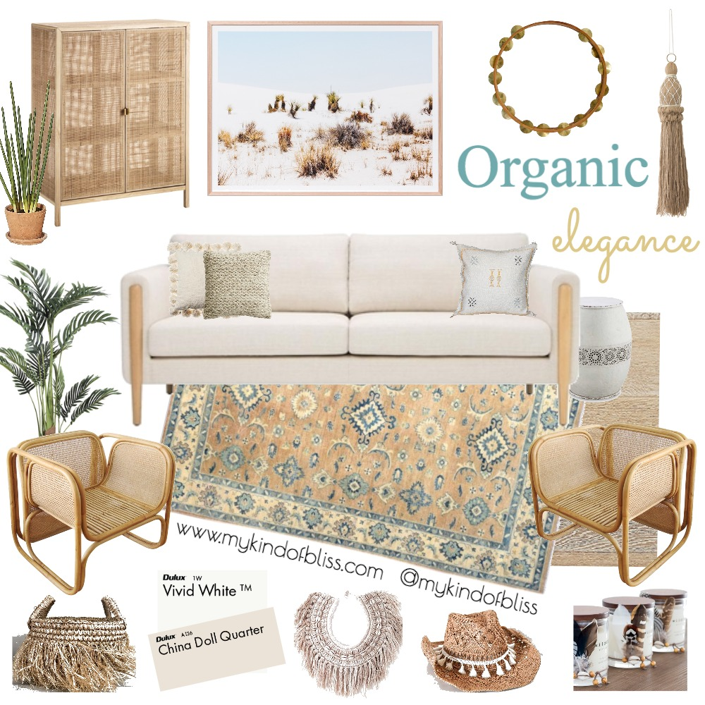 Organic Elegance Mood Board by My Kind Of Bliss on Style Sourcebook