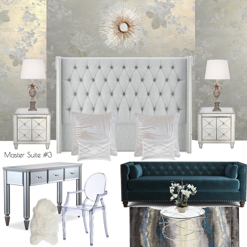 Lina and Quang Master Suite + Retreat #3 Mood Board by Plush Design Interiors on Style Sourcebook