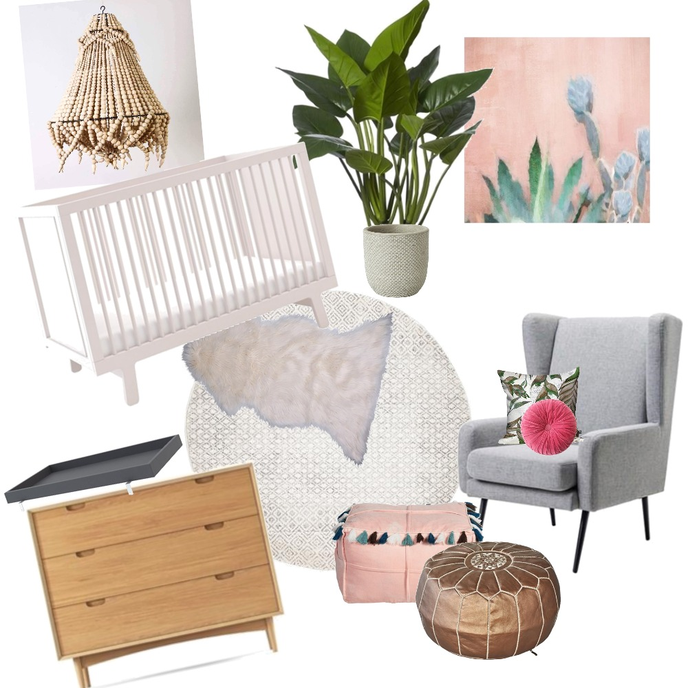 Nursery Interior Design Mood Board by honeyimhome_ on Style Sourcebook