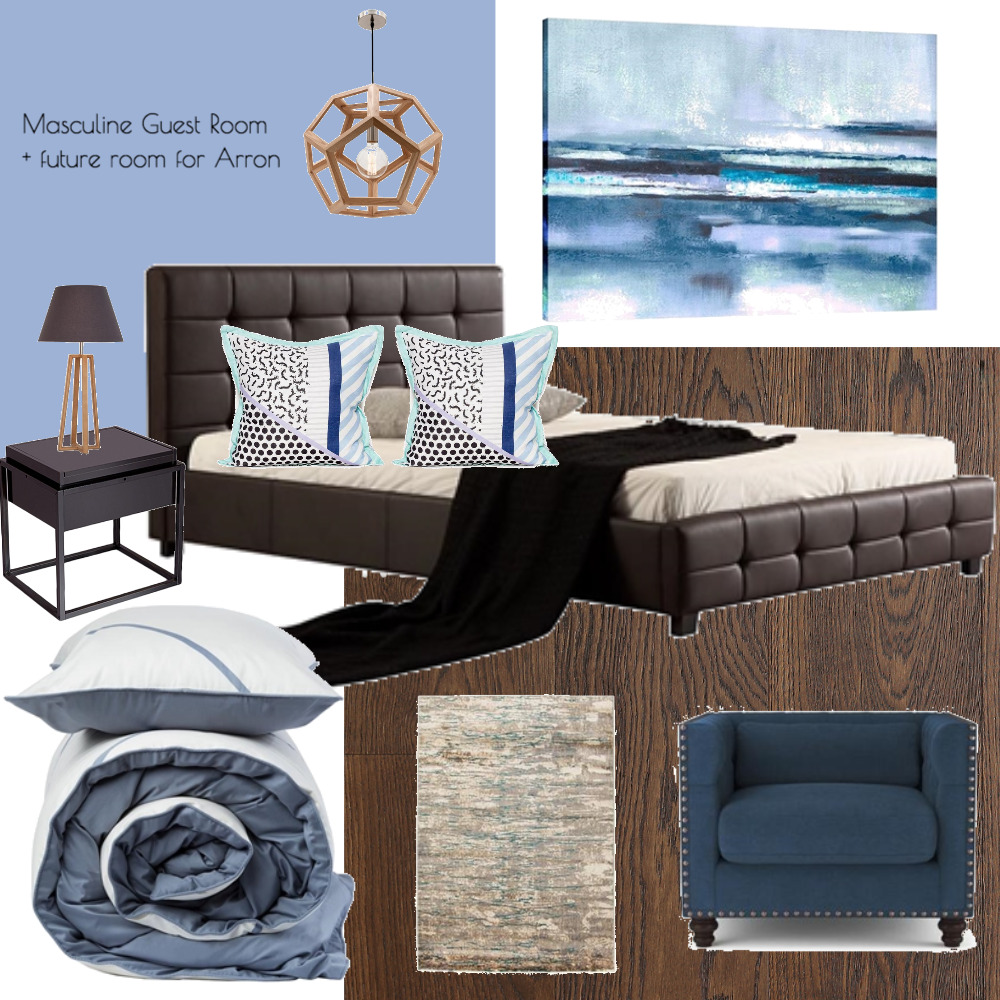 Lina and Quang Guest Room + Future Arron Room Mood Board by Plush Design Interiors on Style Sourcebook