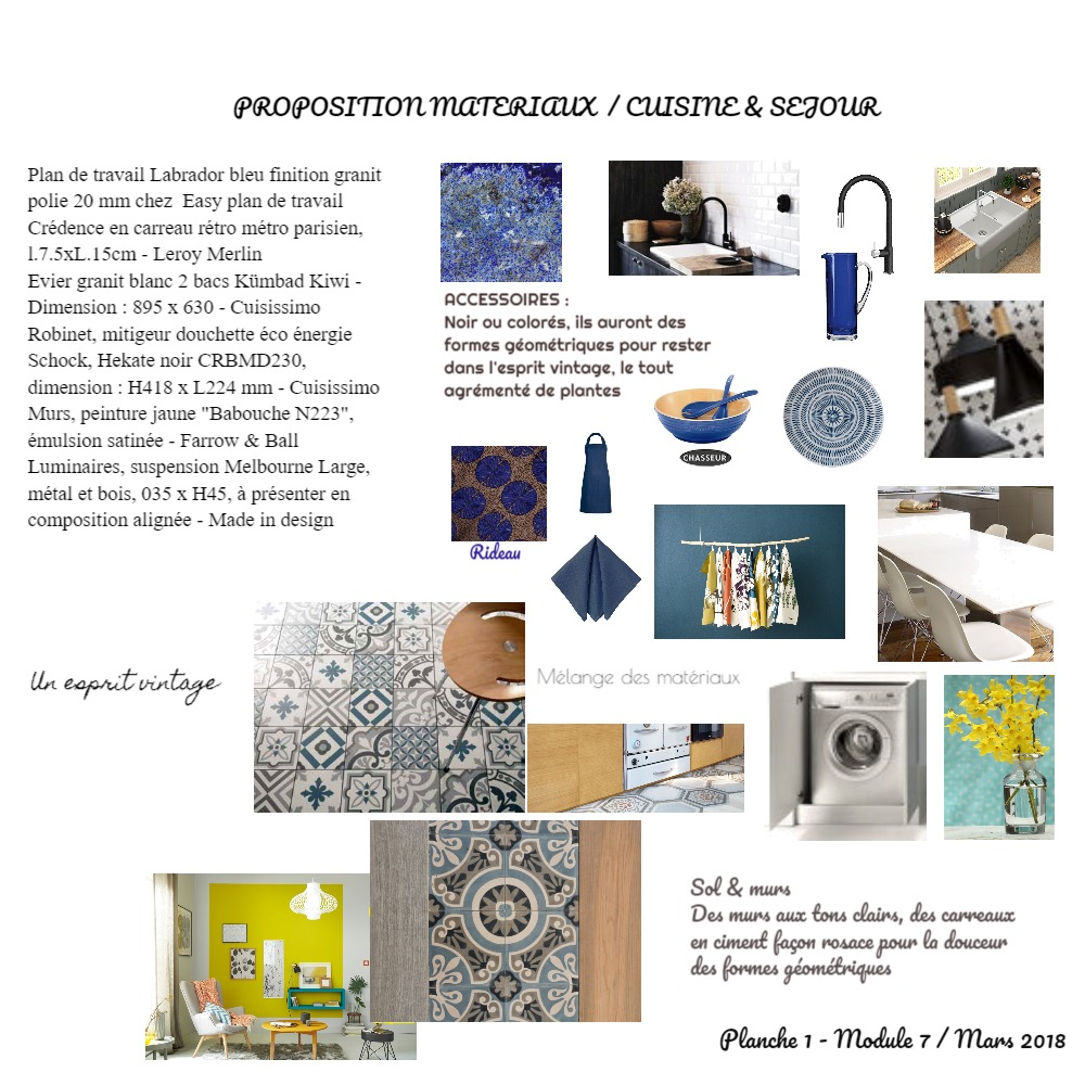 Planche cuisine Mood Board by ABARNOUSSI on Style Sourcebook