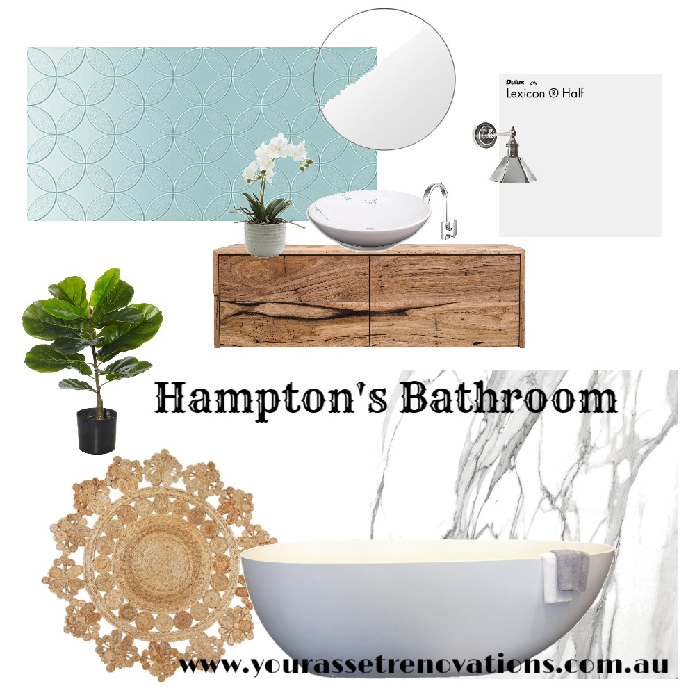 Hampton's Bathroom Mood Board by mooloolaba_lifestyle on Style Sourcebook