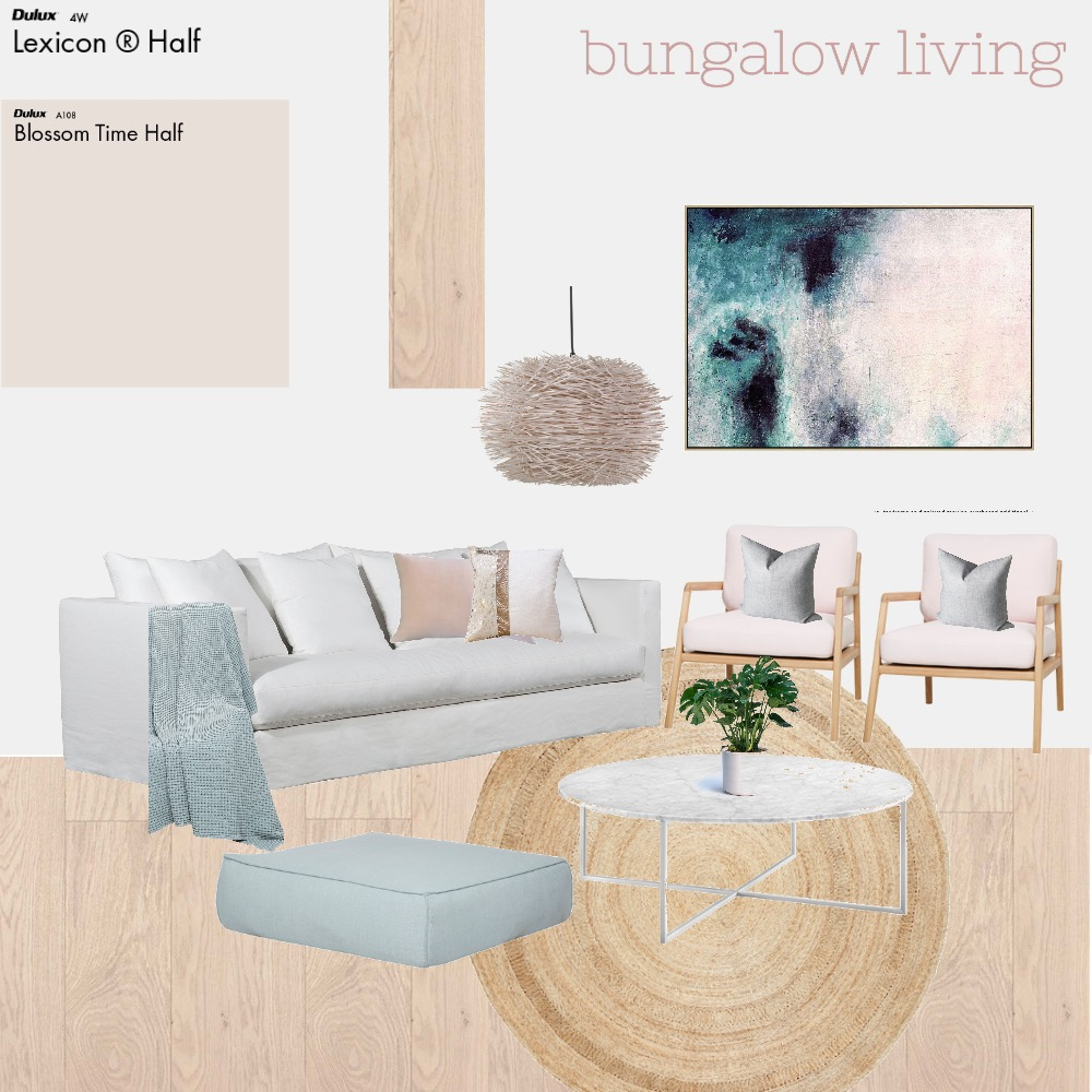 Bungalow Blush Mood Board by Style My Abode Ltd on Style Sourcebook