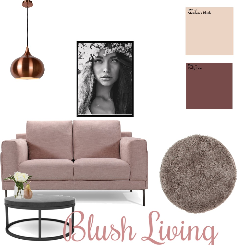 Blush living Mood Board by maria89 on Style Sourcebook