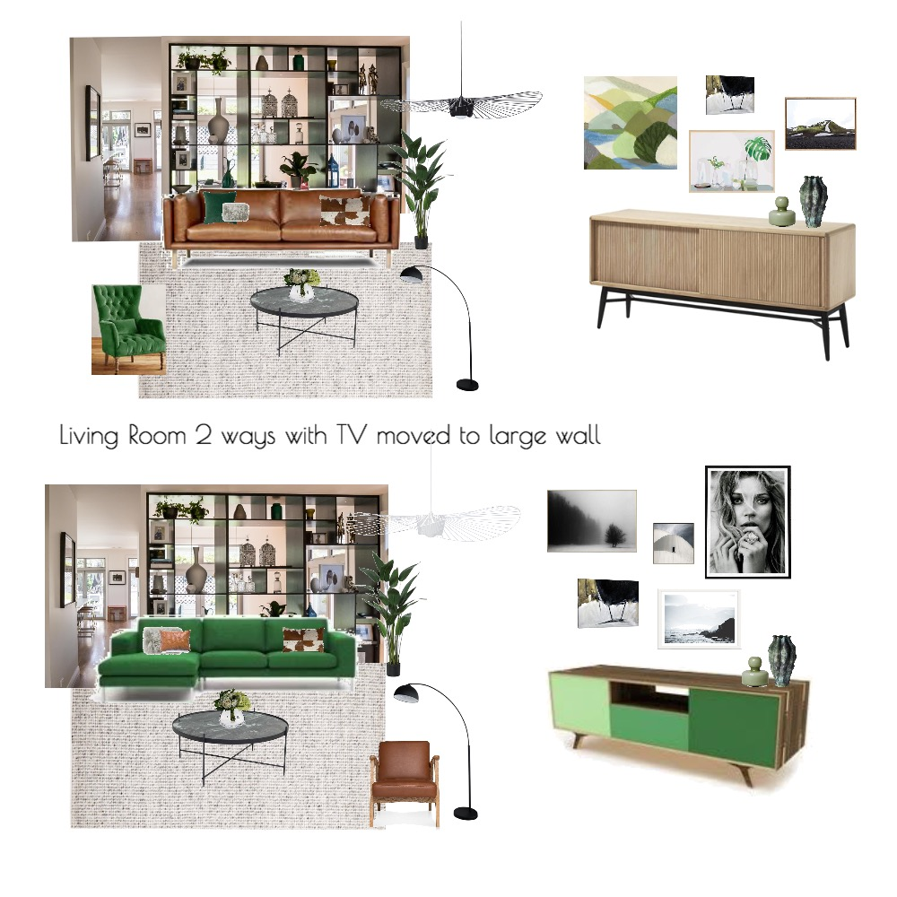 Our living room - 2 ways Mood Board by KatyPost on Style Sourcebook