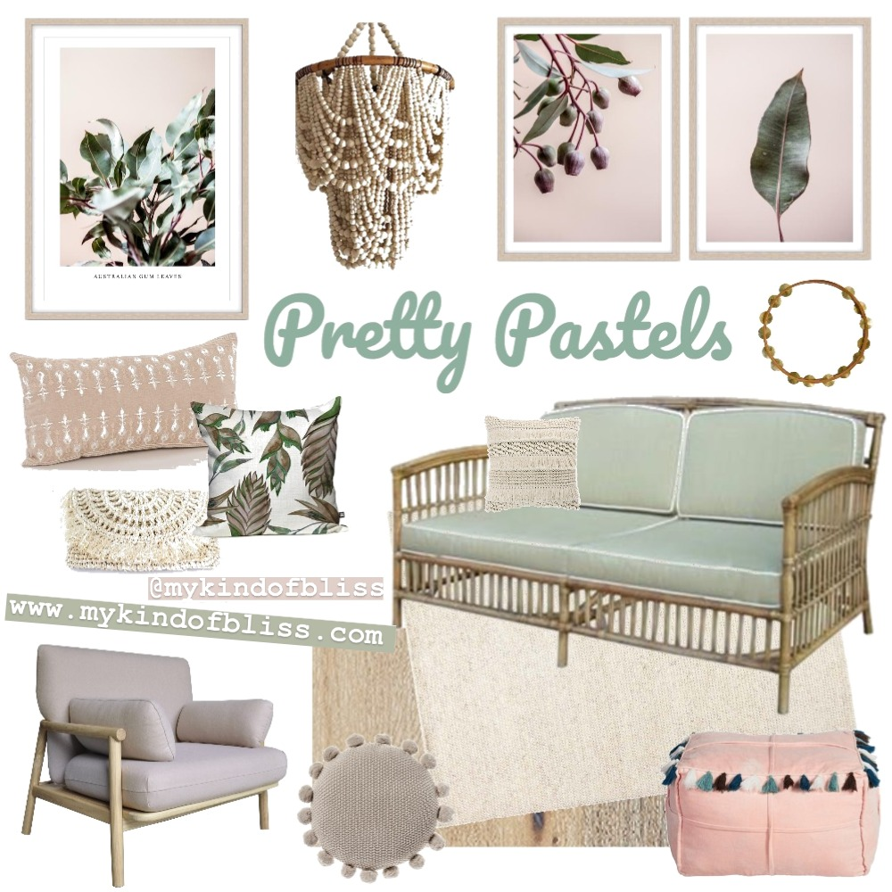 PRETTY PASTELS Mood Board by My Kind Of Bliss on Style Sourcebook
