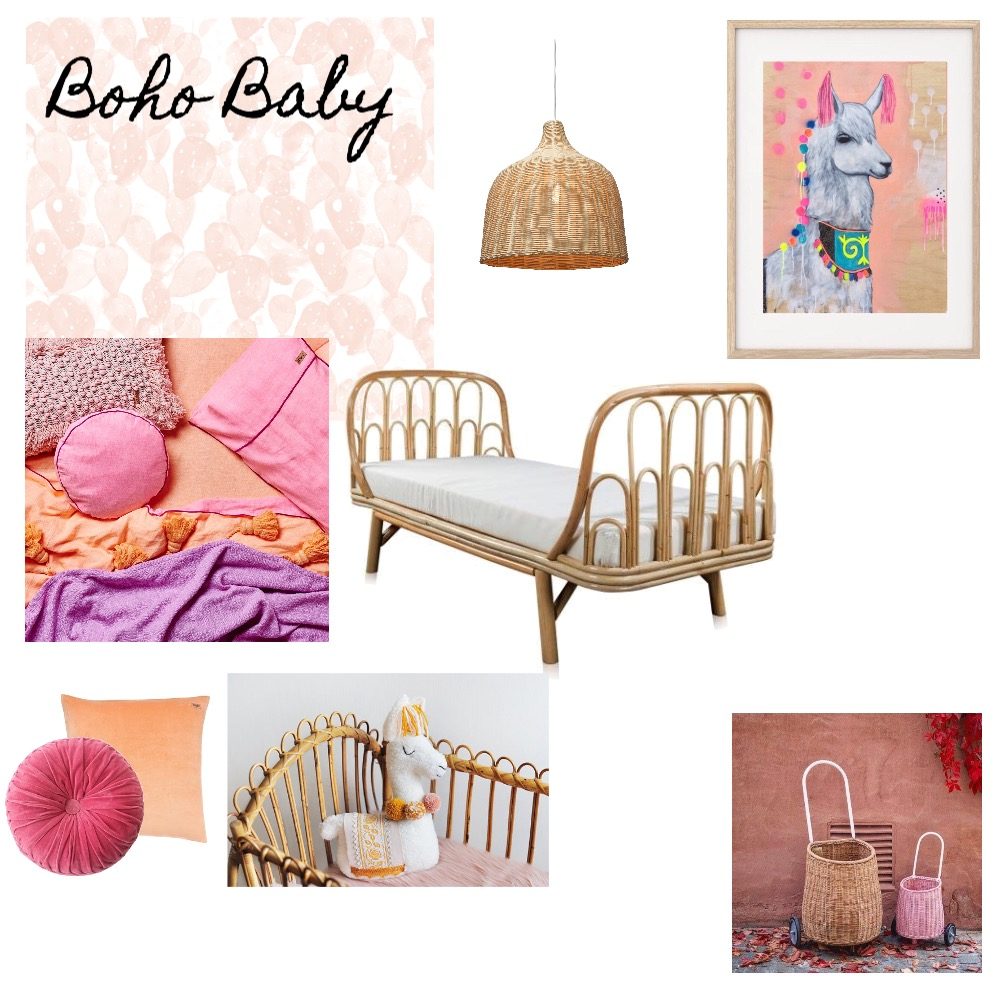 Boho Baby Mood Board by Renovation Road on Style Sourcebook