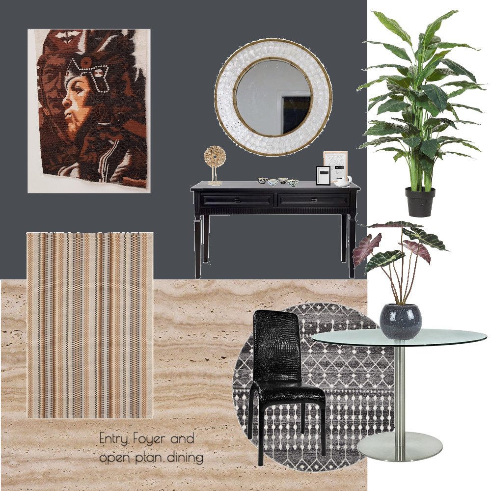 Ana Costa - entry foyer and open plan dining Mood Board by Plush Design Interiors on Style Sourcebook