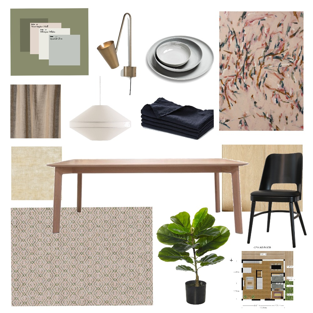 Dining Room Mood Board by JanaIsazaSmith on Style Sourcebook