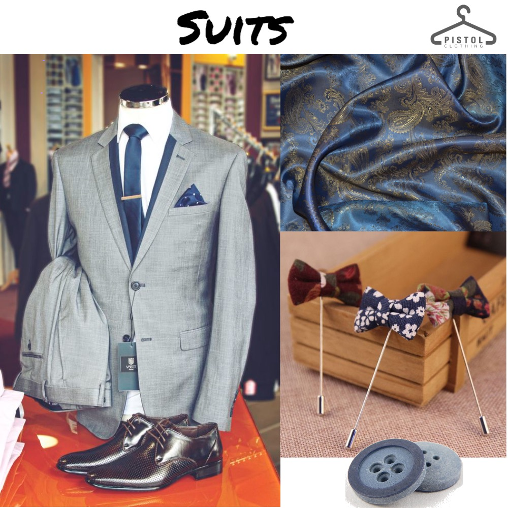 Suits    Grey & Blue Mood Board by snoobabsy on Style Sourcebook