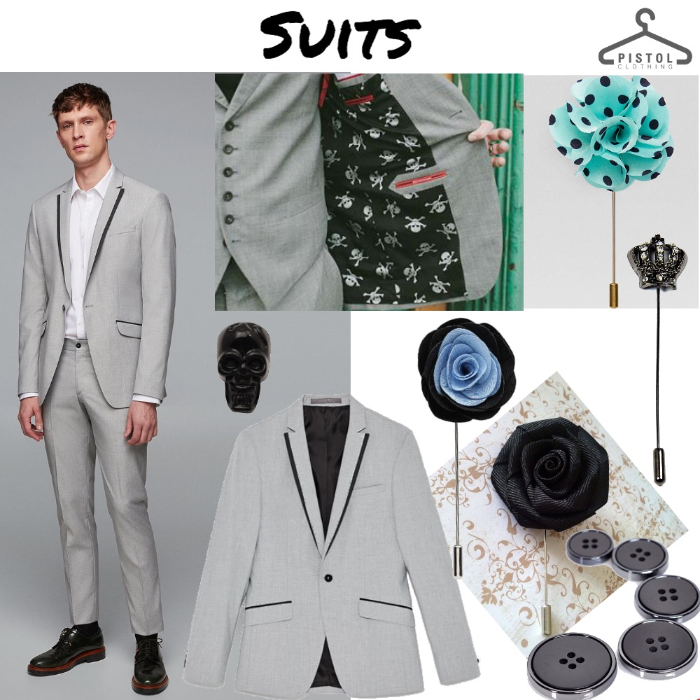 Suits || Grey Skull Mood Board by snoobabsy on Style Sourcebook