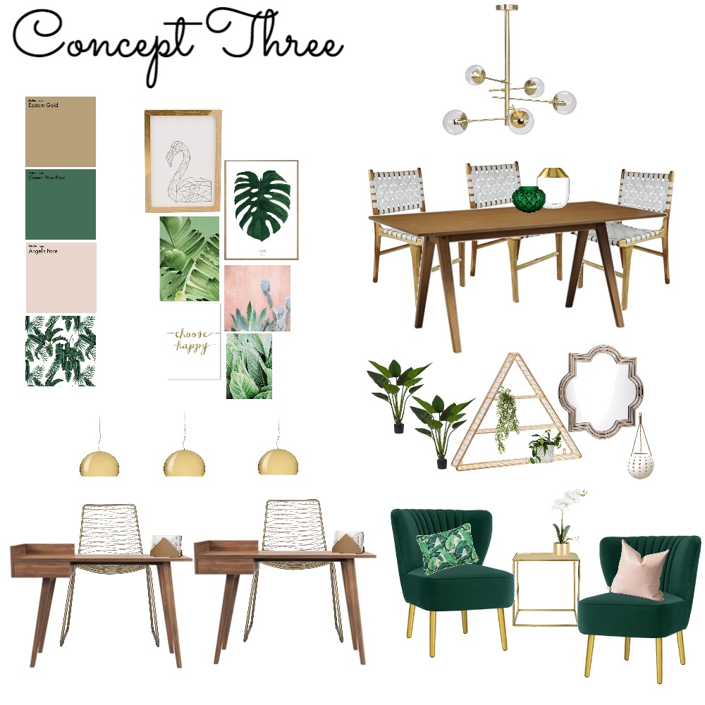 Concept 3 Mood Board by ChampagneAndCoconuts on Style Sourcebook