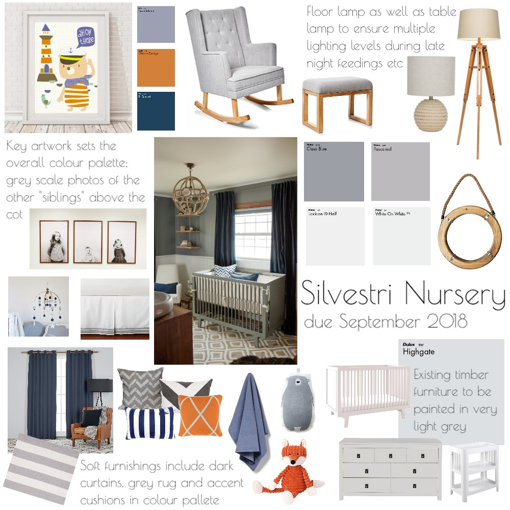 Silvestri Nursery Mood Board by Gilly_Jiggs on Style Sourcebook