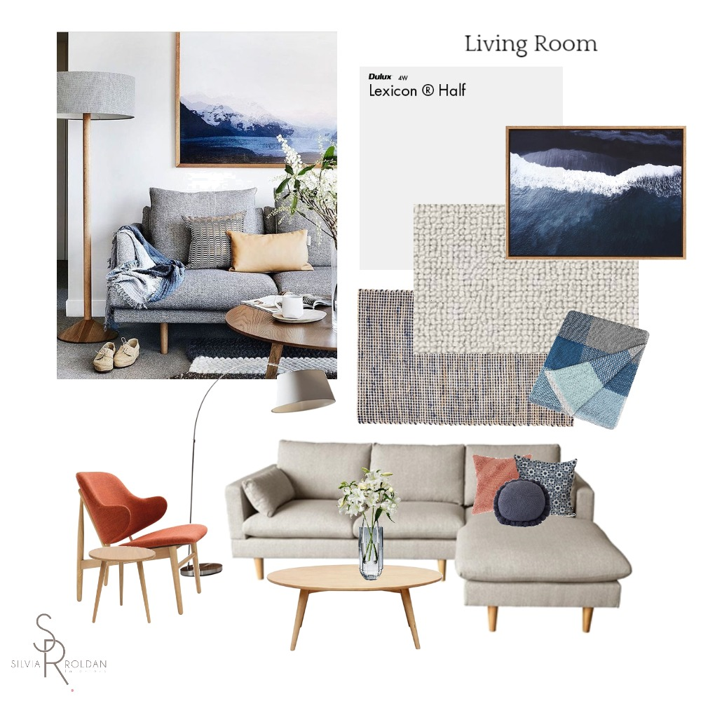Living Room Mood Board by Silvia Roldan Interiors on Style Sourcebook