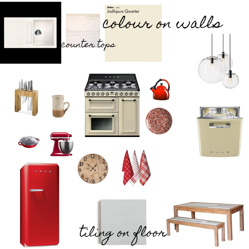country kitchen Mood Board by Jillianhylandxo on Style Sourcebook