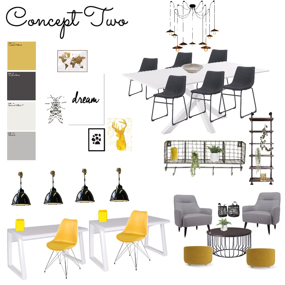 Concept 2 Interior Design Mood Board by ChampagneAndCoconuts on Style Sourcebook