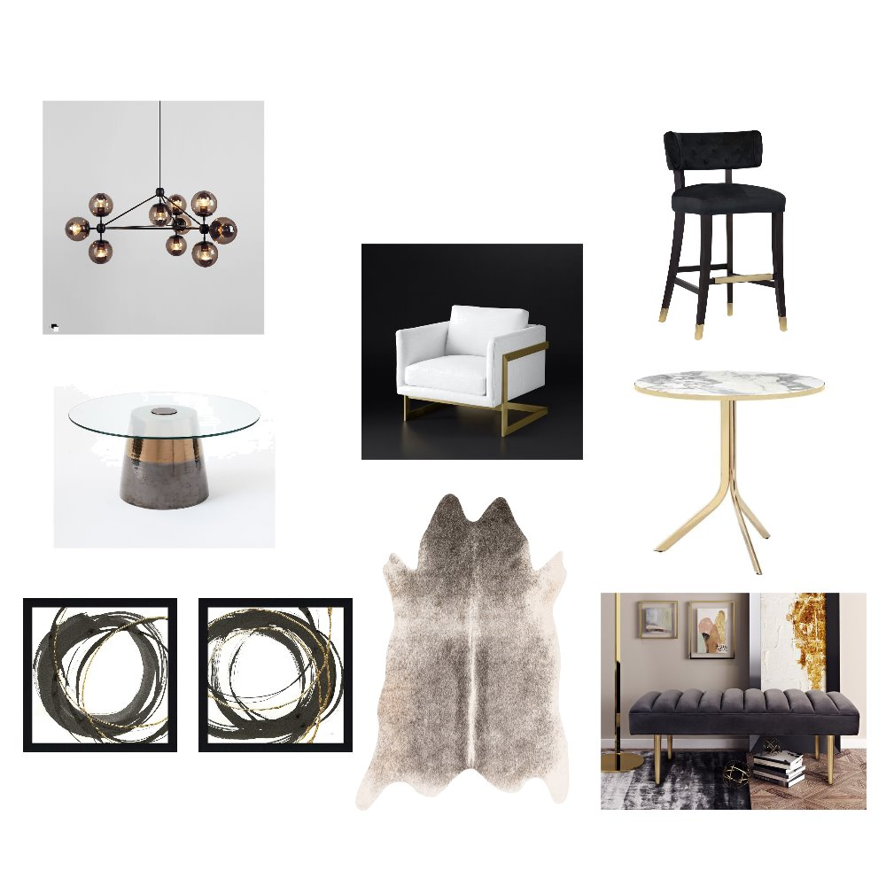 Golden Flair Mood Board by NatashaM on Style Sourcebook
