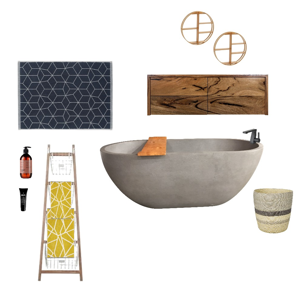 Modern Bath Mood Board by MarionGuerin on Style Sourcebook