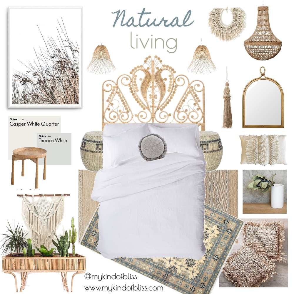 NATURAL LIVING Mood Board by My Kind Of Bliss on Style Sourcebook