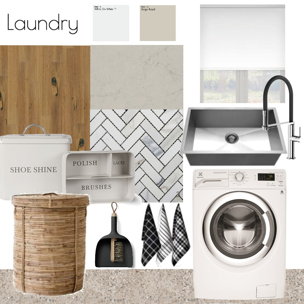 Laundry Interior Design Mood Board by VenessaBarlow on Style Sourcebook