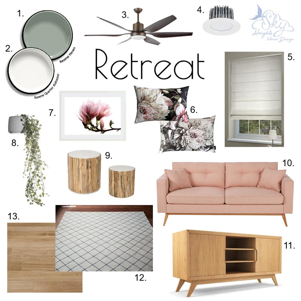 Floral Blush Retreat Mood Board by Skye Burnie on Style Sourcebook