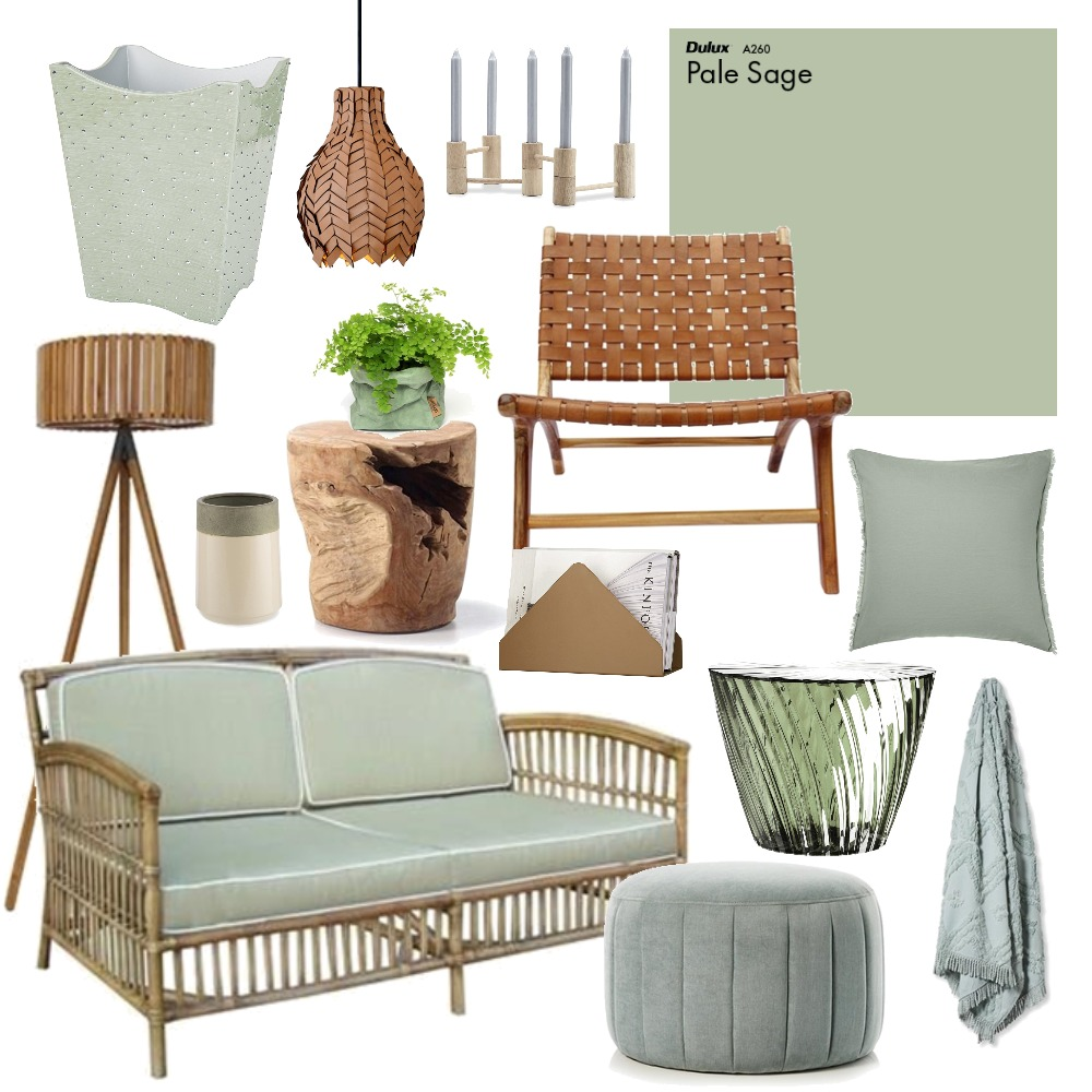 Sage Mood Board by Thediydecorator on Style Sourcebook