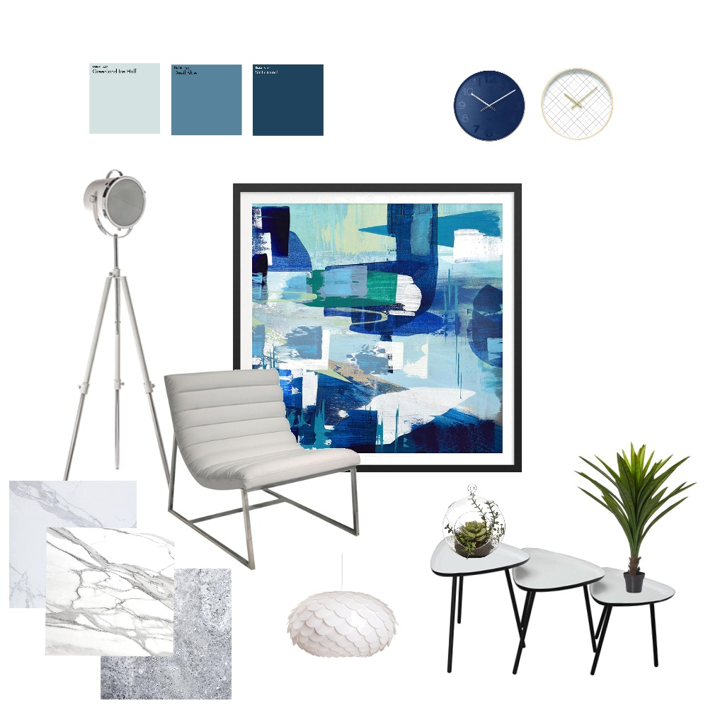 blue living Mood Board by fakata on Style Sourcebook