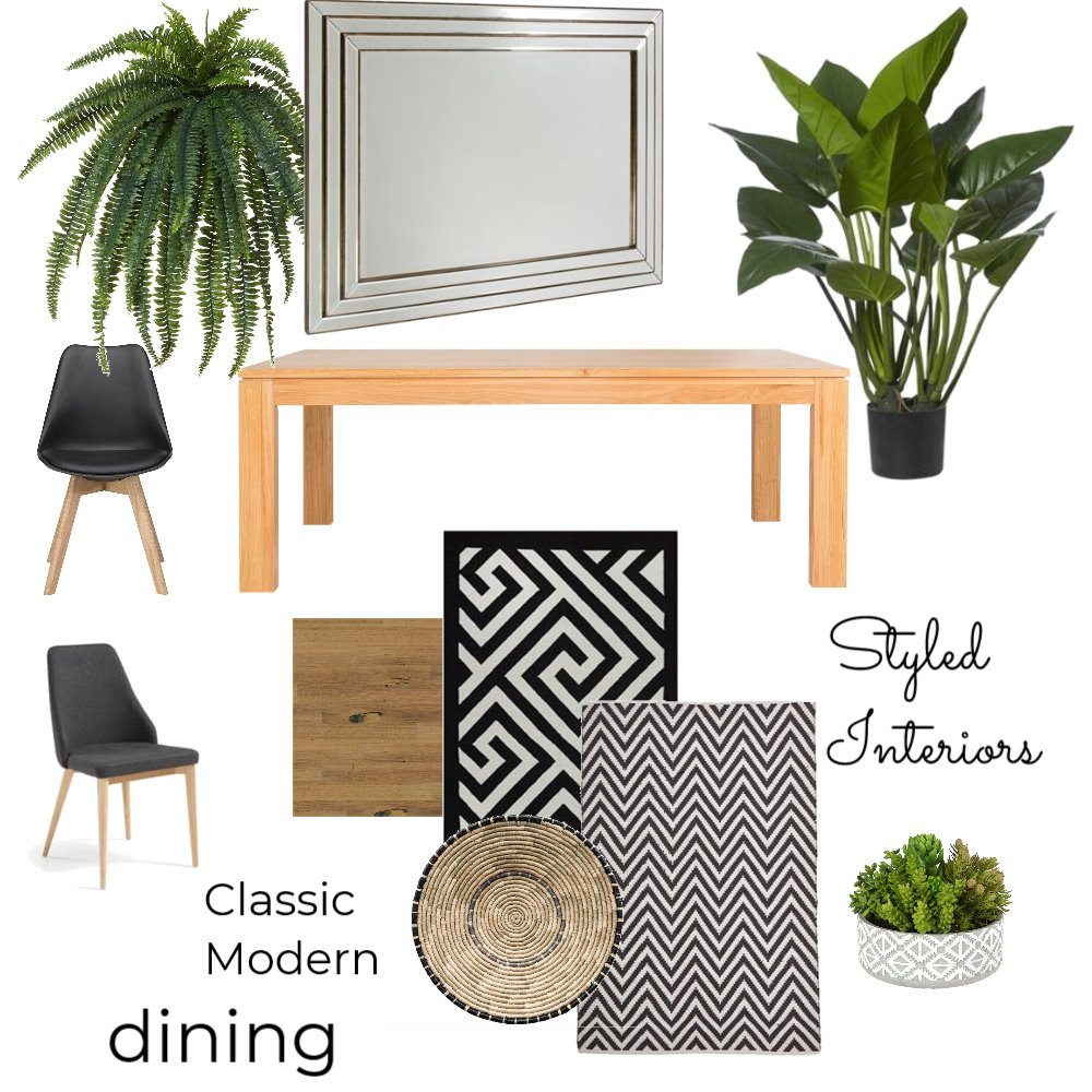 Dining classic Mood Board by StyledInteriors on Style Sourcebook