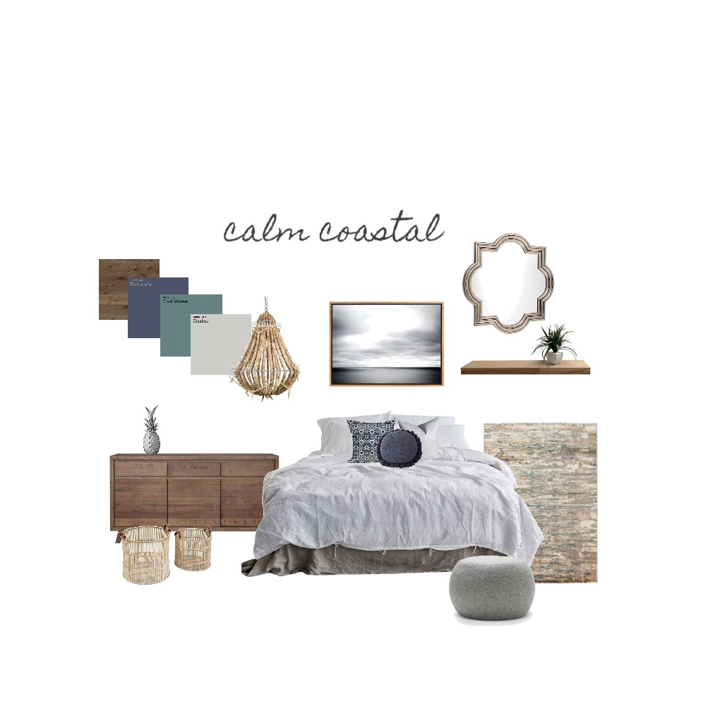calm coastal Interior Design Mood Board by ZIINK on Style Sourcebook