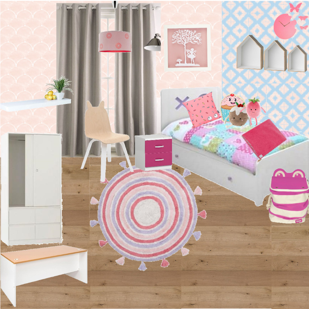 kamar anak 2.1 Interior Design Mood Board by anisatulhusna on Style Sourcebook