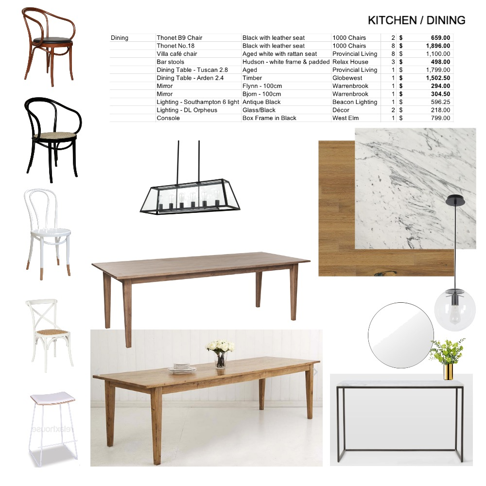 dining - MCKENNA Mood Board by elliebrown11 on Style Sourcebook