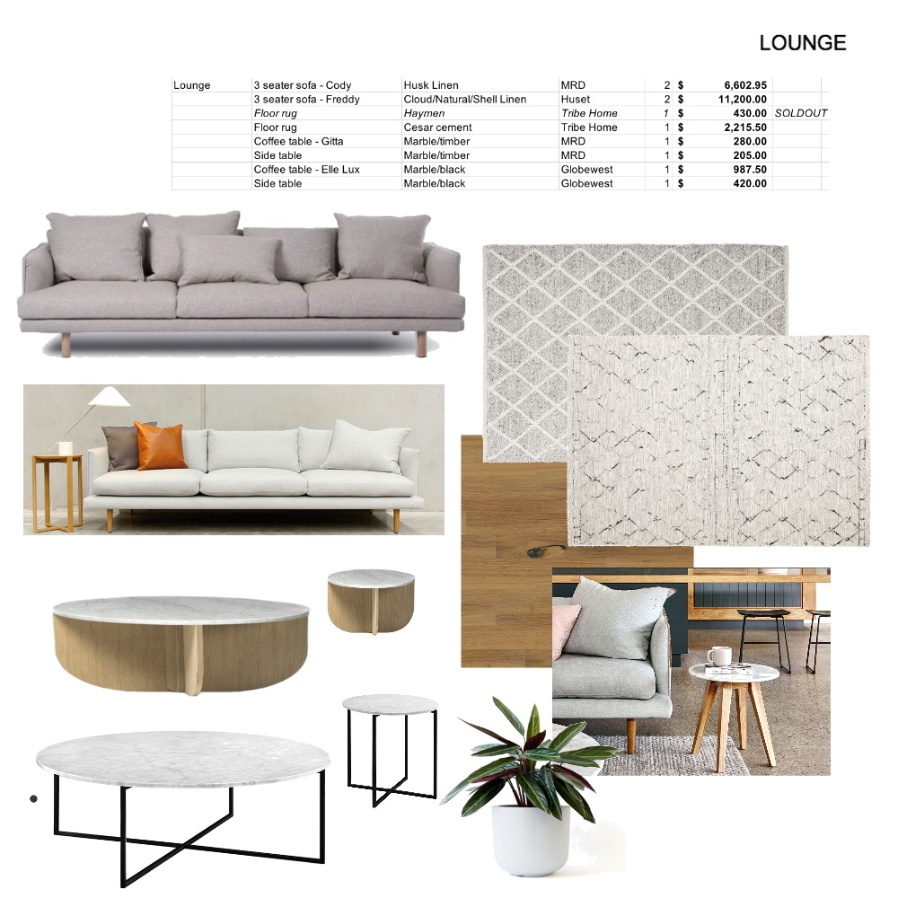 Lounge - MCKENNA ST Mood Board by elliebrown11 on Style Sourcebook