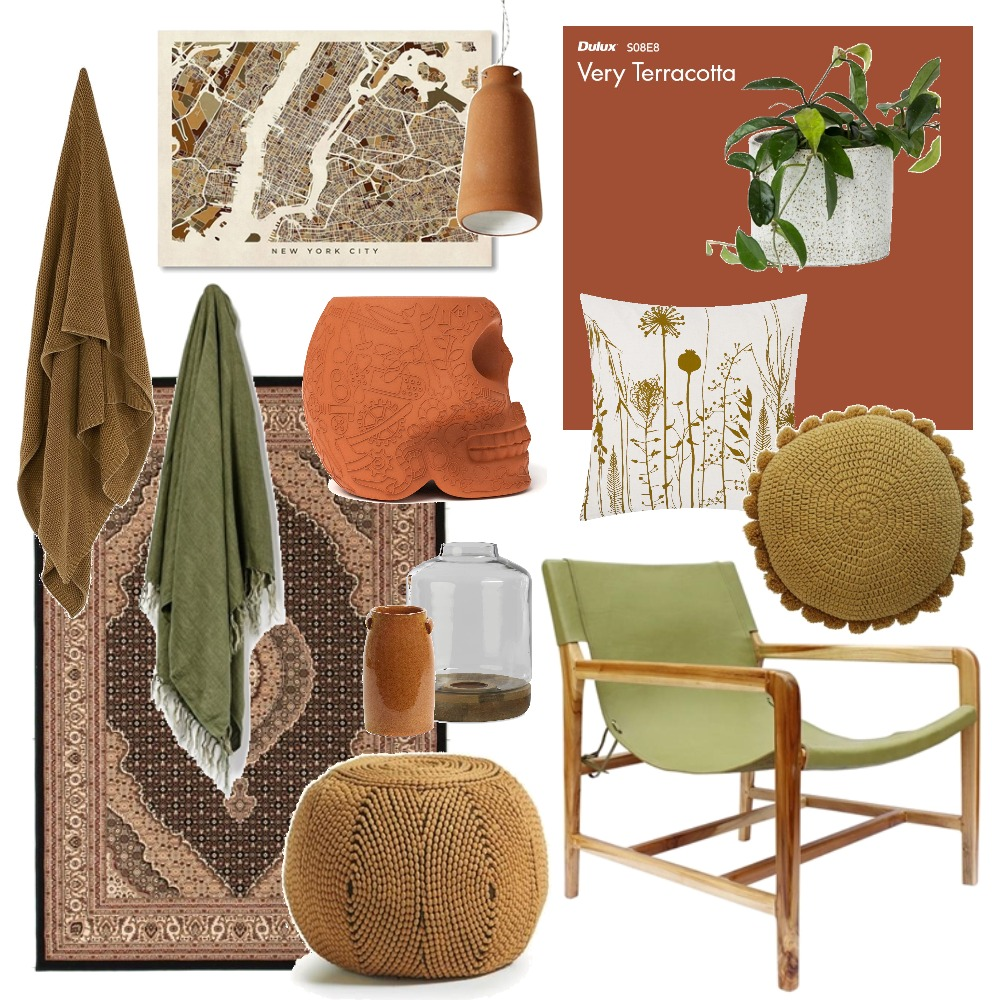 Tones from nature Interior Design Mood Board by Thediydecorator on Style Sourcebook
