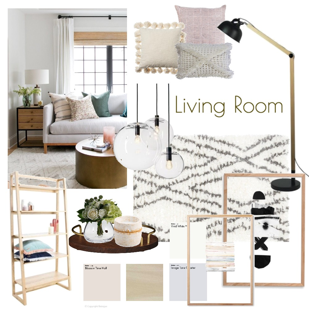 Living Room Mood Board by wynthehuman on Style Sourcebook