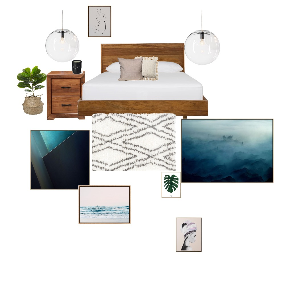 Michelle Bedroom Interior Design Mood Board by Jessicaretallack on Style Sourcebook
