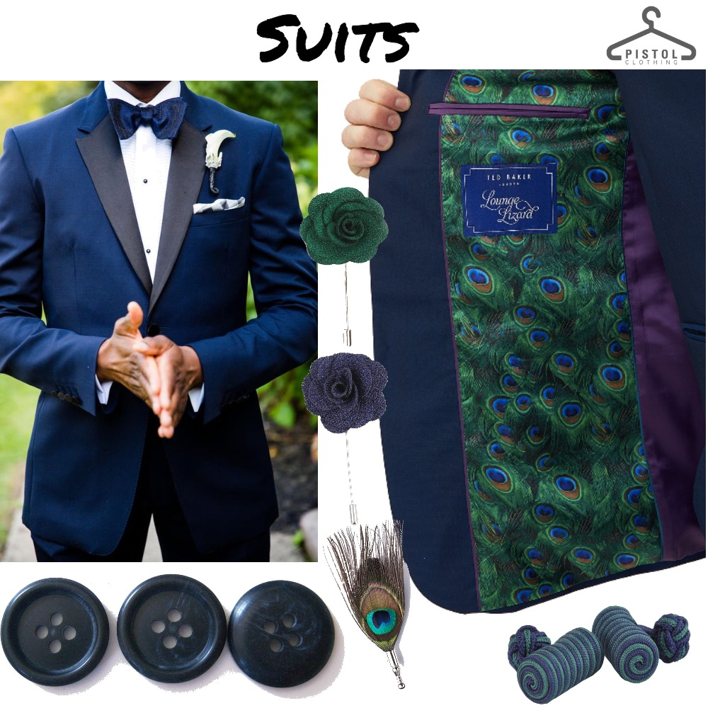 Suits || Peacock Mood Board by snoobabsy on Style Sourcebook
