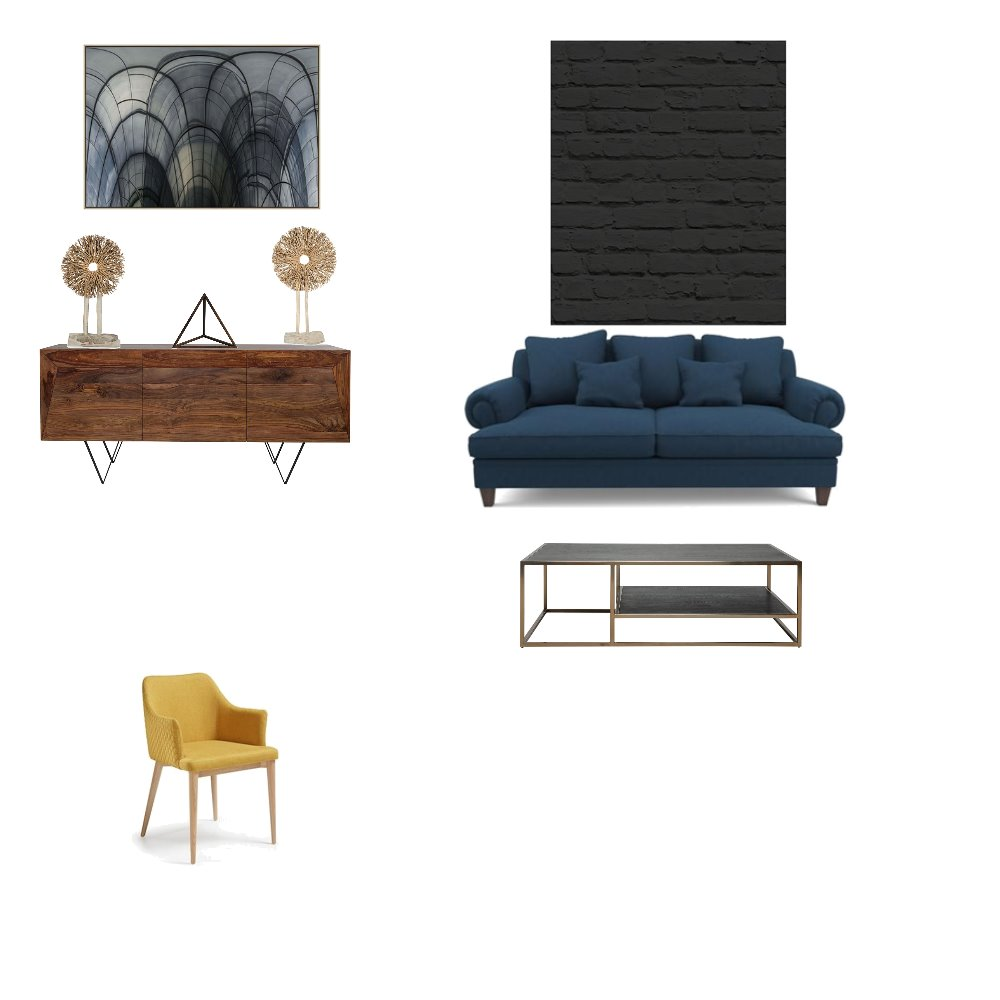 Masculine/Modern Interior Design Mood Board by UMENICK on Style Sourcebook