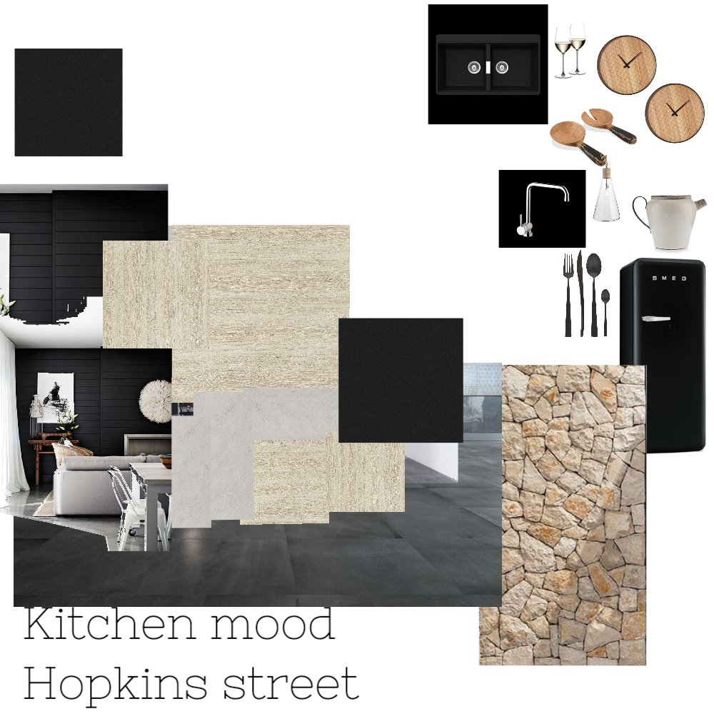Hopkins Street kitchen Interior Design Mood Board by Velebuiltdesign on Style Sourcebook