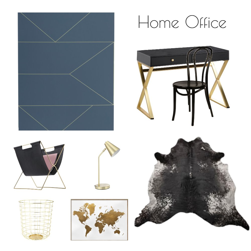 Harmony Home Office Mood Board by SandiC on Style Sourcebook