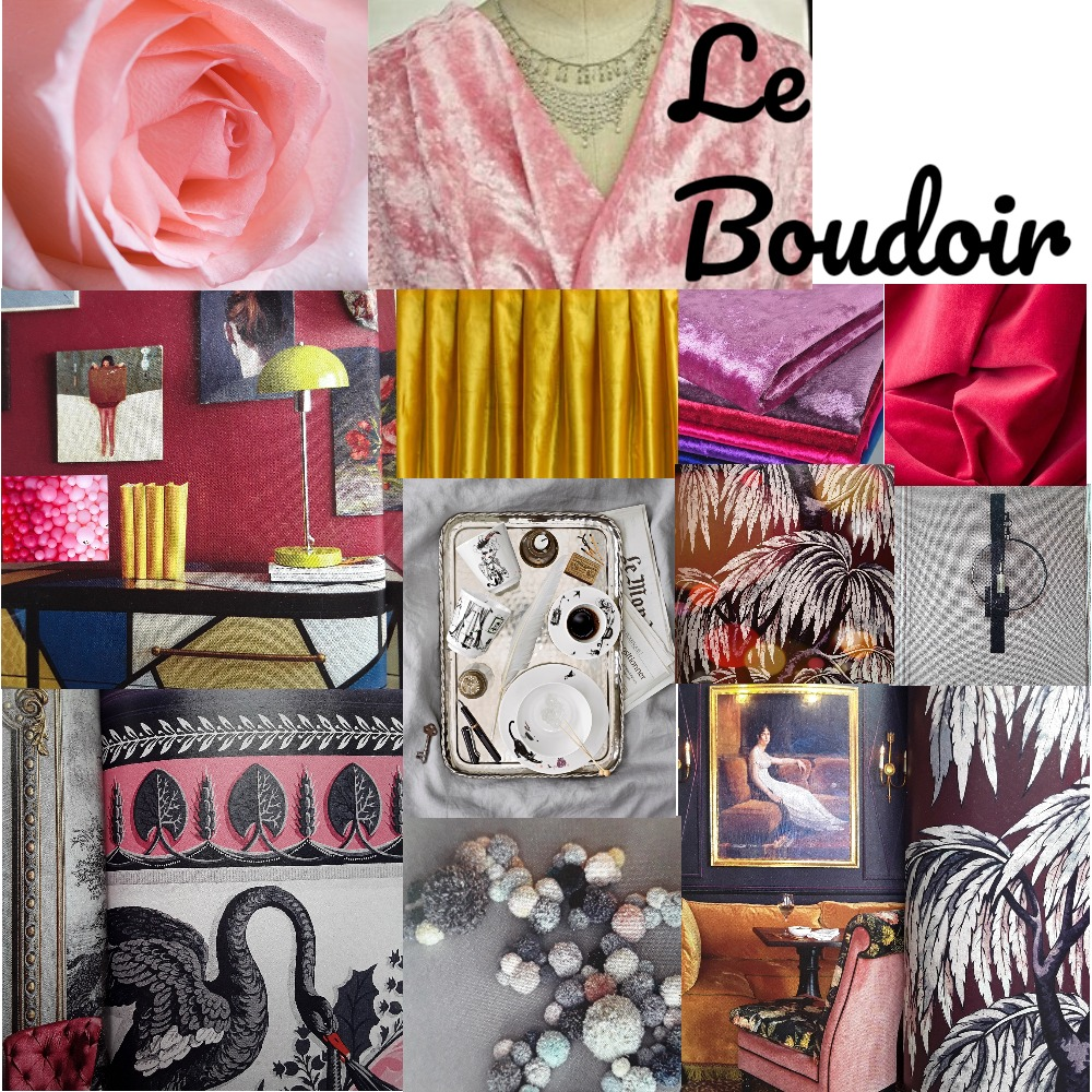 LE BOUDOIR Mood Board by ABARNOUSSI on Style Sourcebook