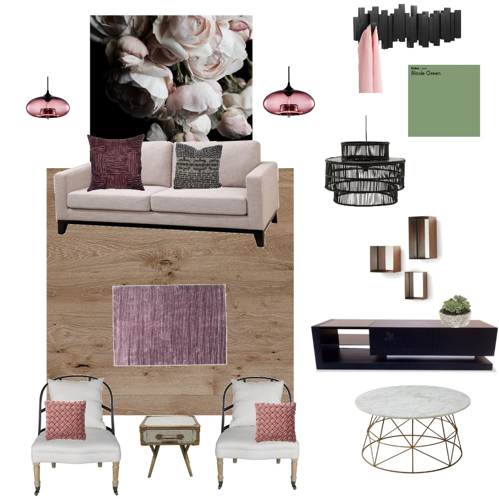 Femanine/living space Interior Design Mood Board by UMENICK on Style Sourcebook