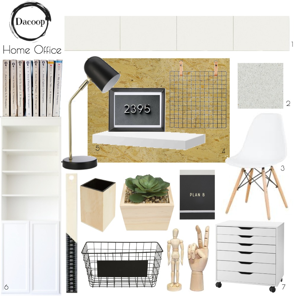 Home Office Mood Board by VenessaBarlow on Style Sourcebook