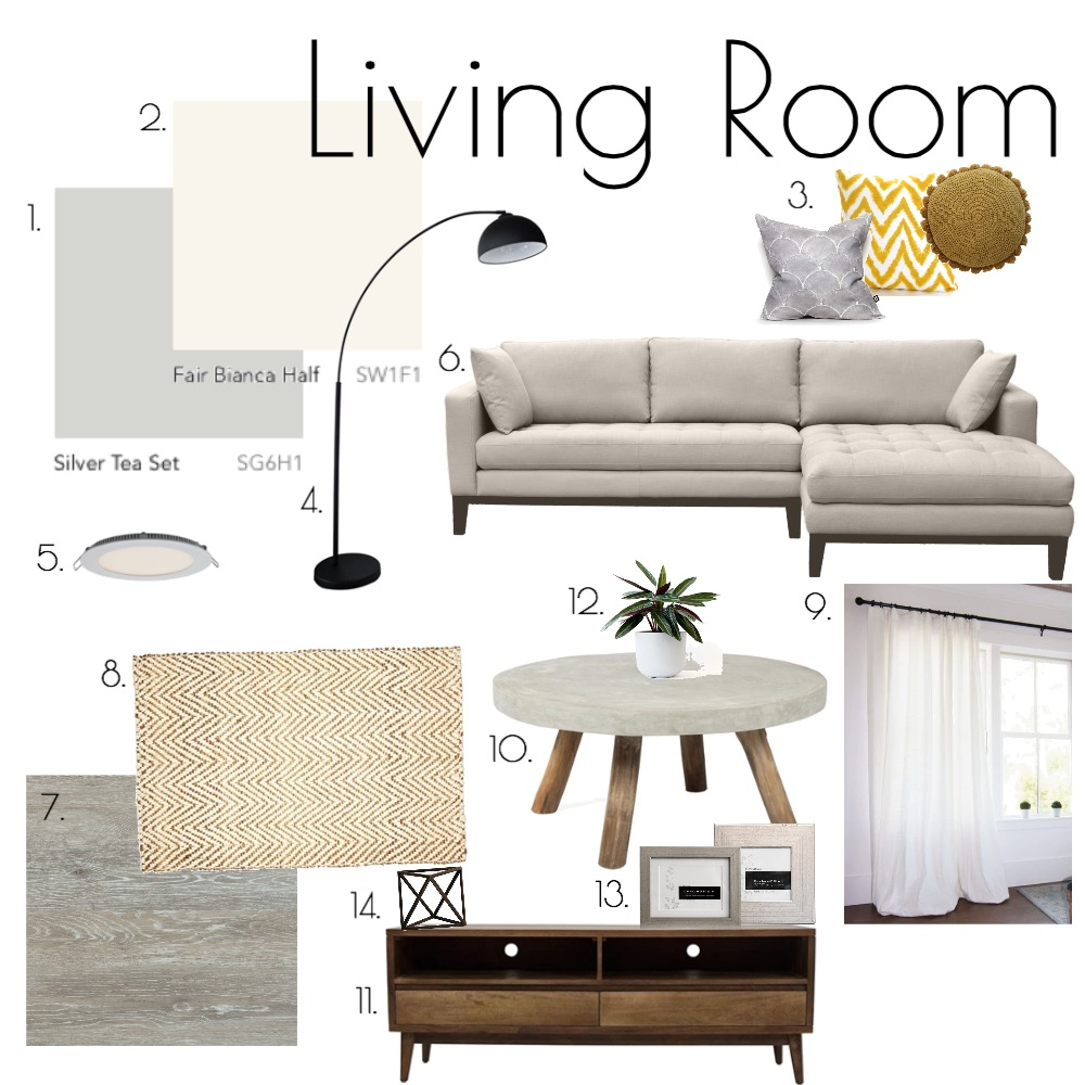Living Room Mood Board by morganross on Style Sourcebook