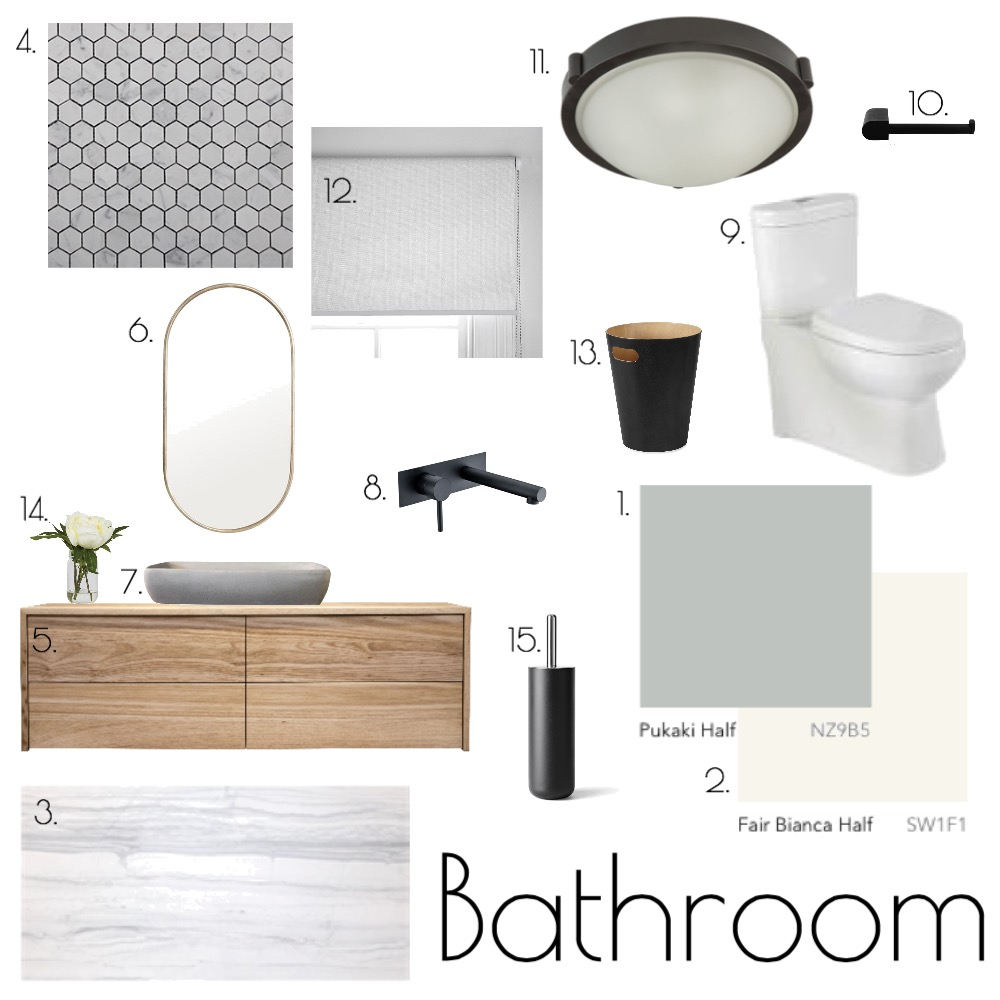 Bathroom Mood Board by morganross on Style Sourcebook