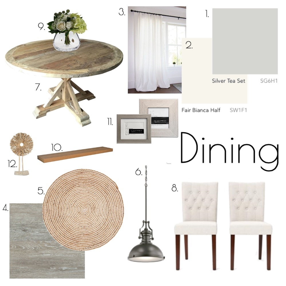 Dining Mood Board by morganross on Style Sourcebook