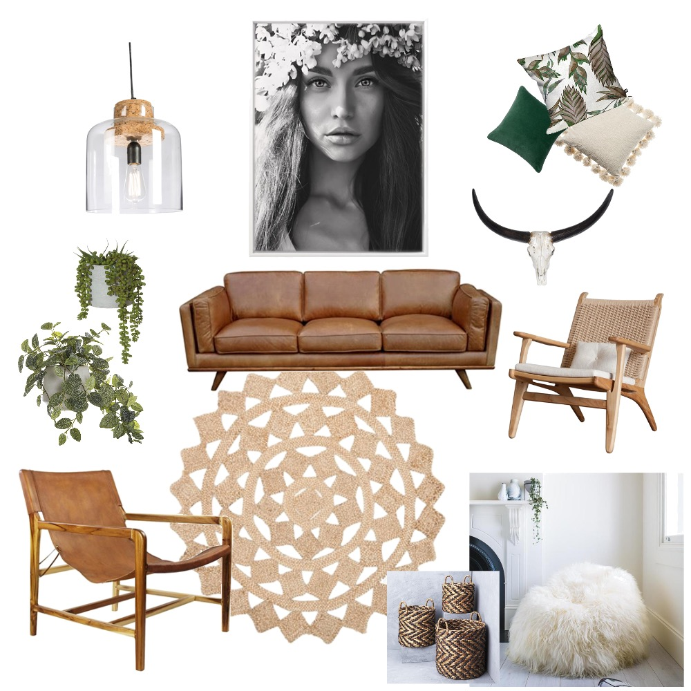 boho Mood Board by nicolewaters on Style Sourcebook